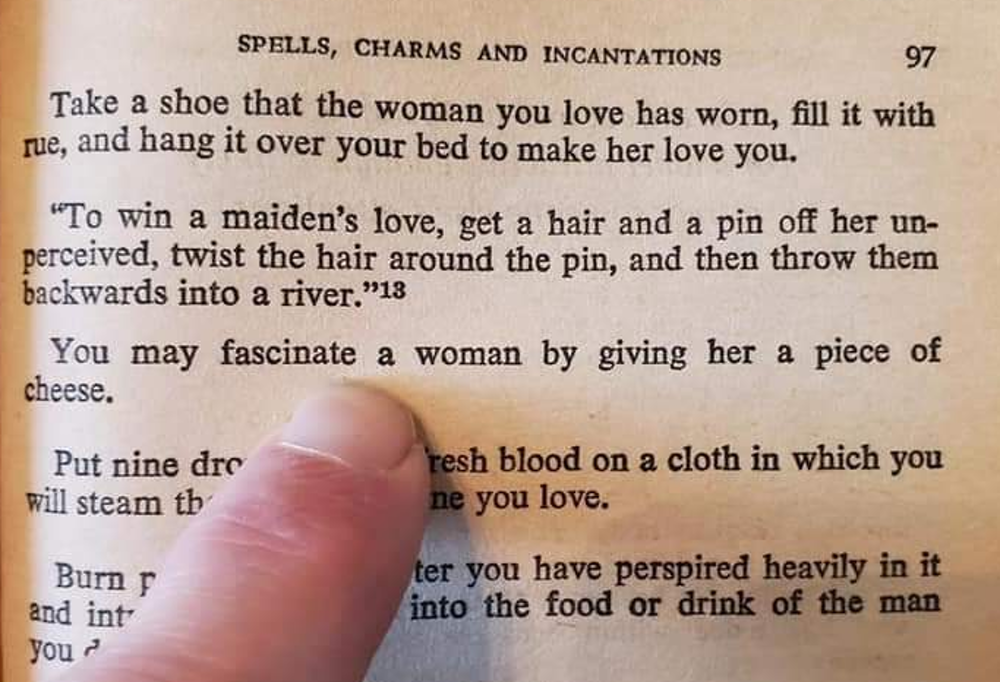 Spell love married a a on man cast LOVE SPELLS