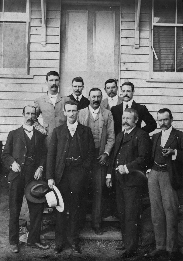 Men in suits circa 1900