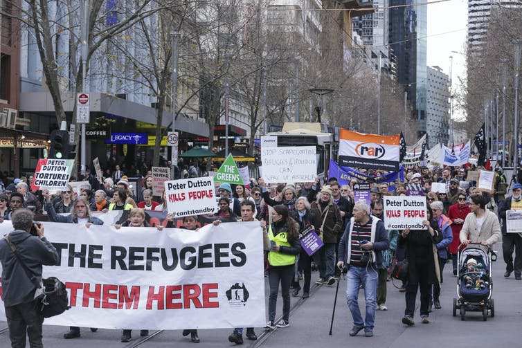 Could the Biden administration pressure Australia to adopt more humane refugee policies?