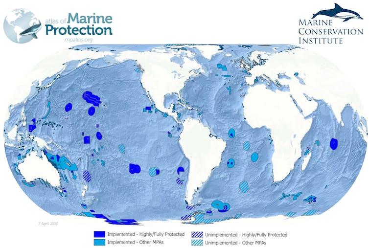 Peta Kawasan Konservasi Perairan.