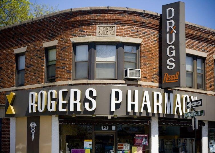 corner pharmacy