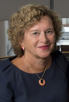 a head shot of Nancy Cantor chancellor of Rutgers University - Newark