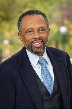 A head shot of Earl Lewis, Founder and Director of University of Michigan's Center for Social Solutions