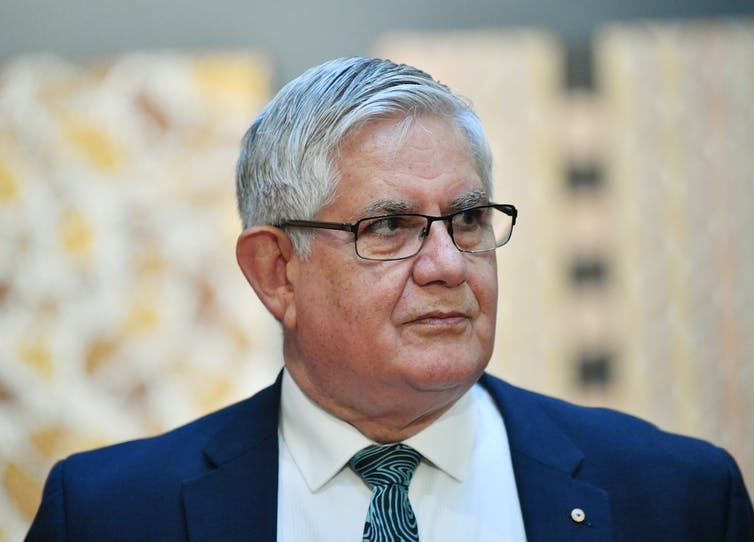 Minister for Indigenous Australians Ken Wyatt