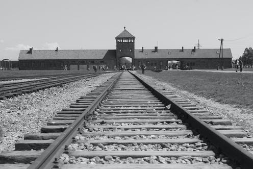 The former Nazi concentration (and extermination) camp Auschwitz-Birkenau, Poland.