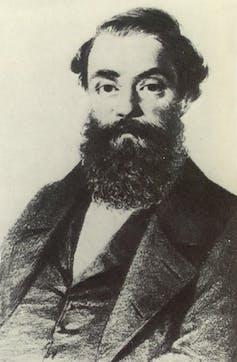 Francesco Maria Piave, libretista de Rigoletto. Wikimedia Commons