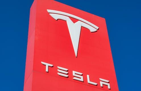 Tesla sign