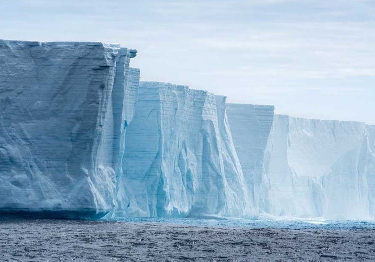Antarctic iceberg.