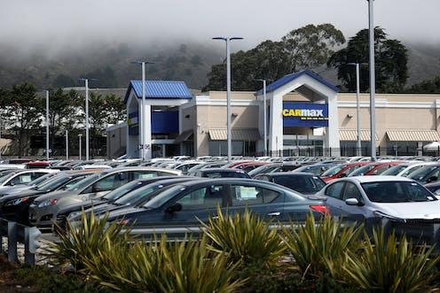 Photo of Carmax used car dealership