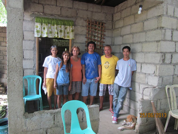 Three Filipino fishermen interviewed by the authors