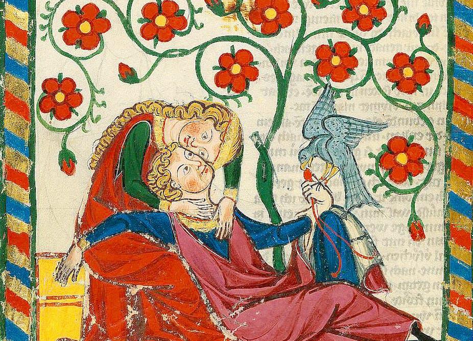 Codex Manesse, UB Heidelberg, Cod. Pal. germ. 848, fol. 249v