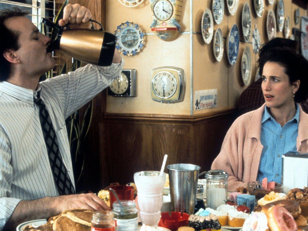 iconic movies, Groundhog Day (1993).