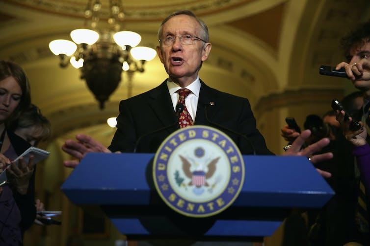 Harry Reid and Senate Democrats
