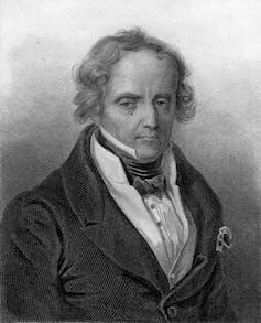 Portrait of Xavier de Maistre.