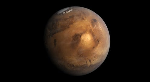 Image of Mars.