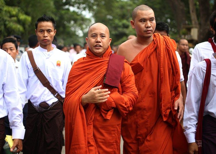 Buddhist nationalist group,  Ma Ba Tha, Monks,  Myanmar