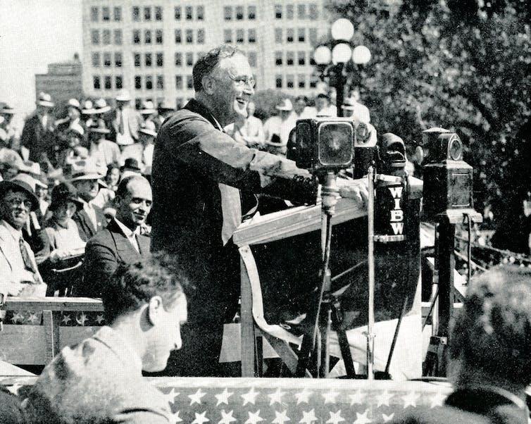 Franklin D. Roosevelt in 1932.