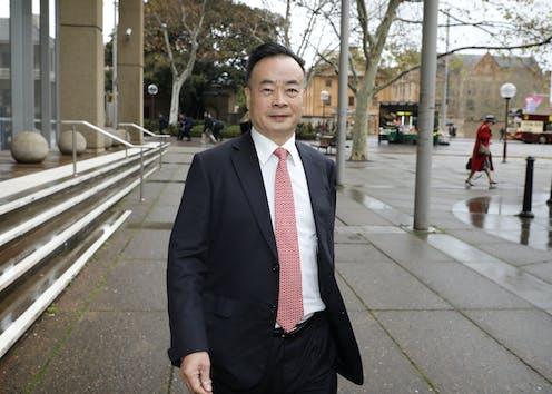 Chinese-Australian Businessman Chau Chak Wing