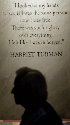 une citation de Harriet Tubman