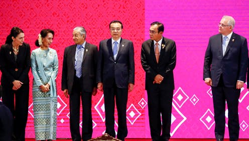 Asia-Pacific leaders at the ASEAN summit