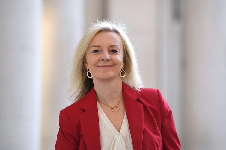 Liz Truss, the UK international trade secretary