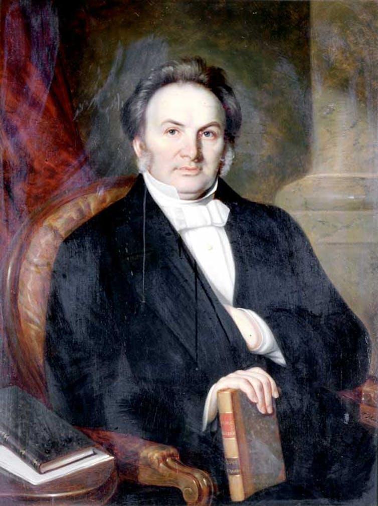 Portrait of Egerton Ryerson.