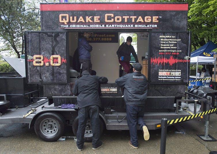 An earthquake simulator