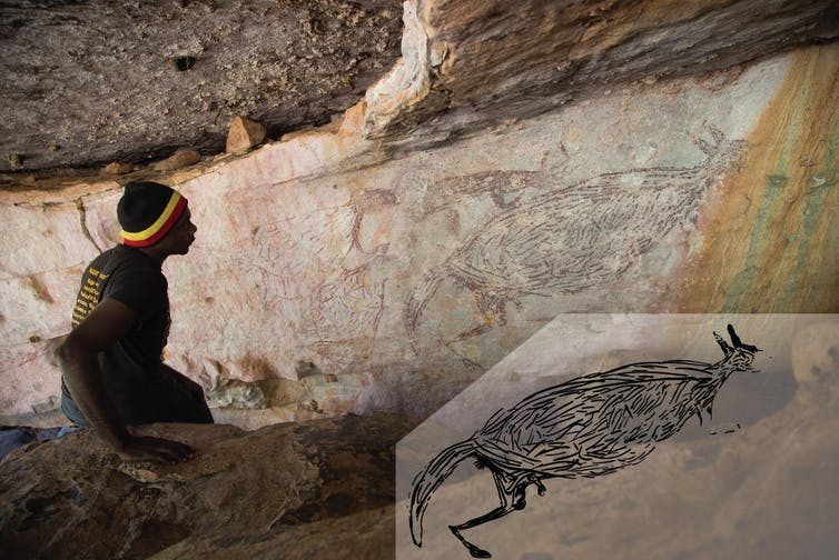 This 17,500-year-old kangaroo in the Kimberley is Australia's oldest Aboriginal rock painting