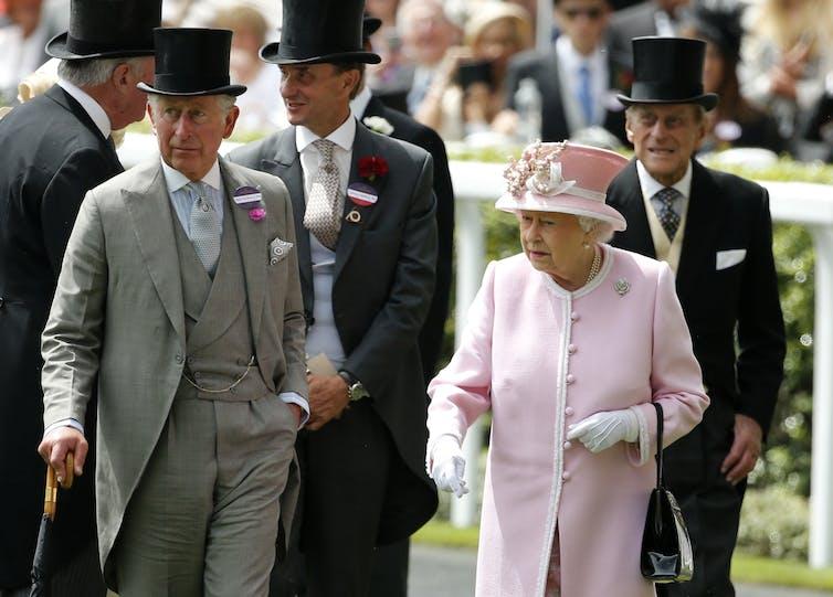 Queen Elizabeth at Royal Ascot in 2016.