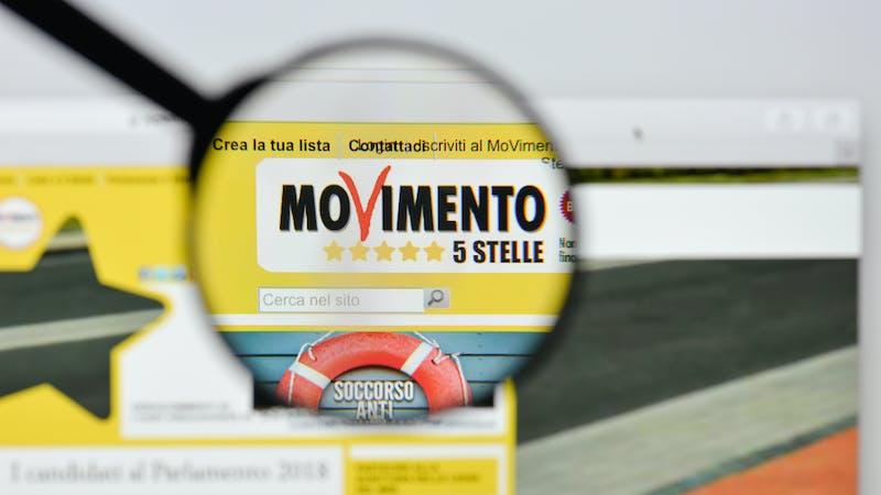 El Movimiento 5 Estrellas y la crisis política en Italia