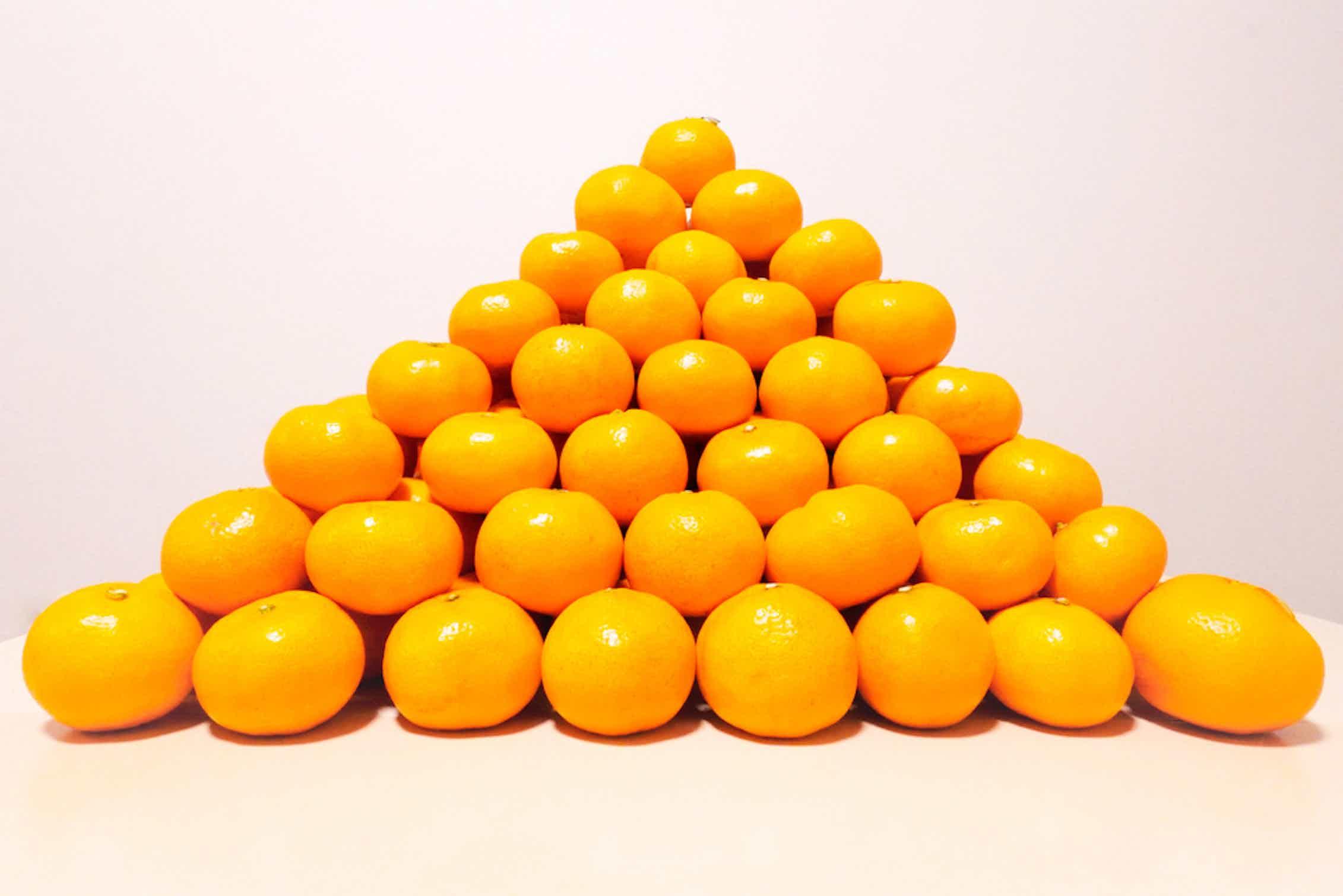 Aproximadamente un cuarto del volumen de esta pirámide es espacio vacío.cattosus/Shutterstock