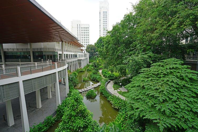 Campus of National University of Singapore