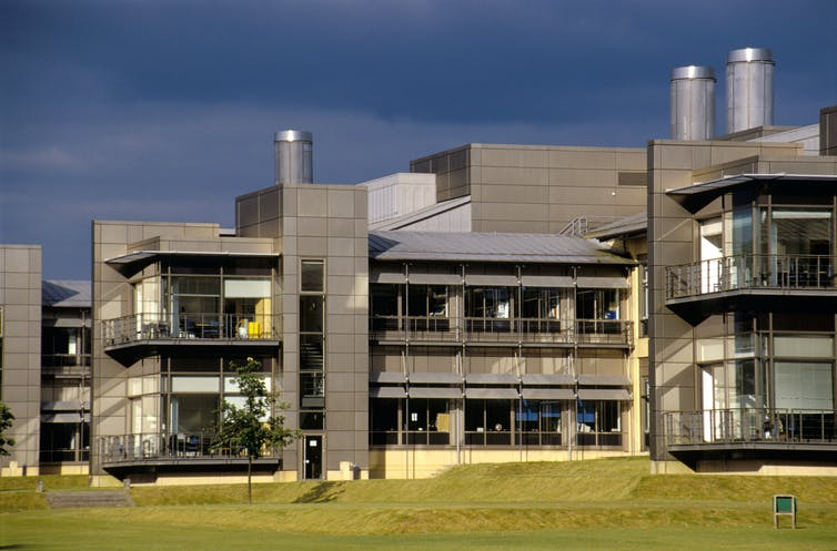 The Wellcome Sanger Institute in Cambridge, England.