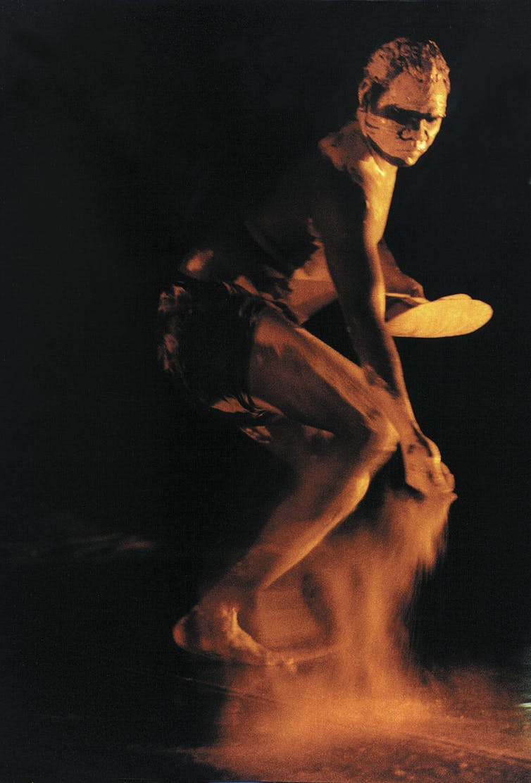 Male Indigenous dancer