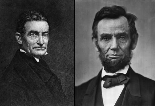 John Brown and Abraham Lincoln