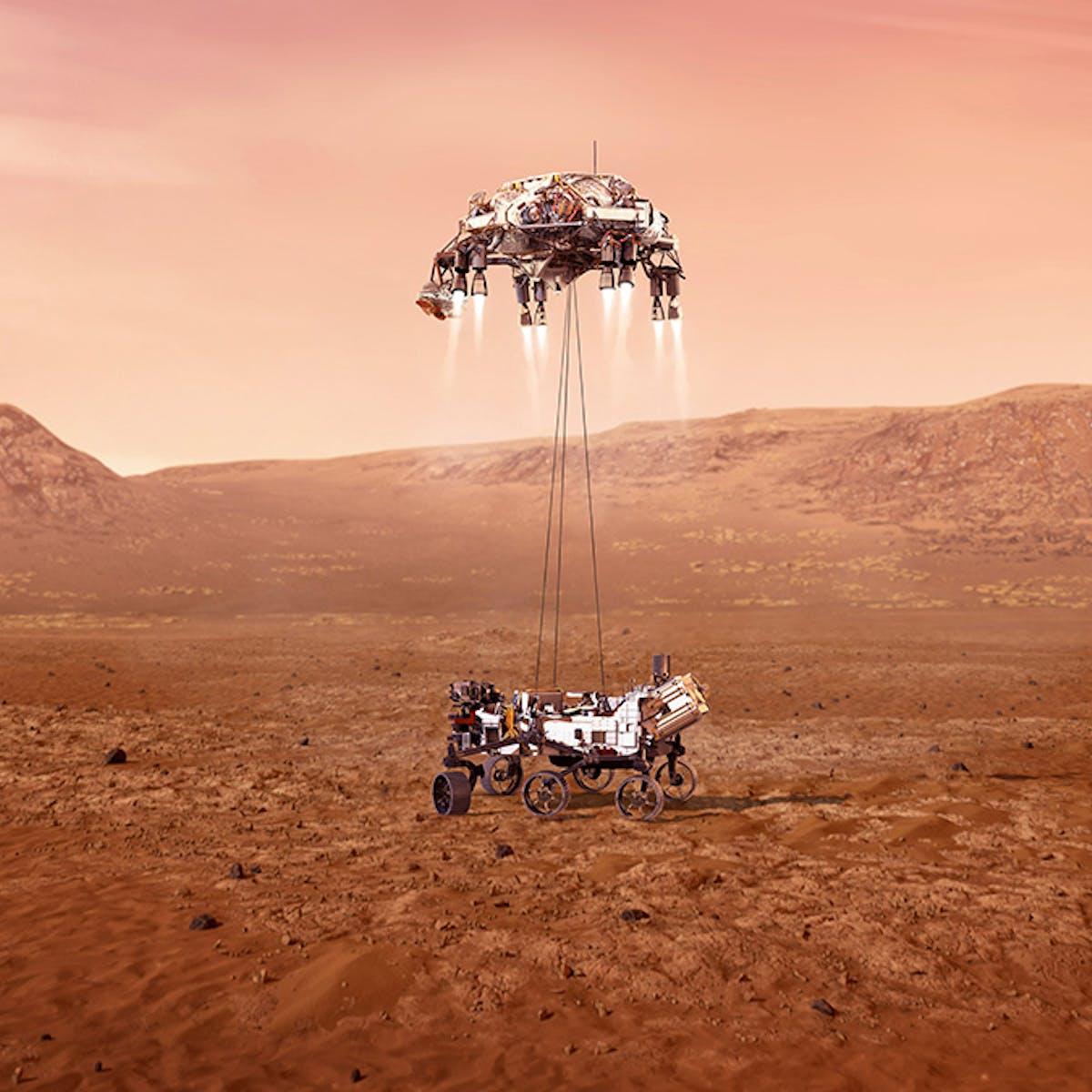 Bilderesultater for Perserverance rover