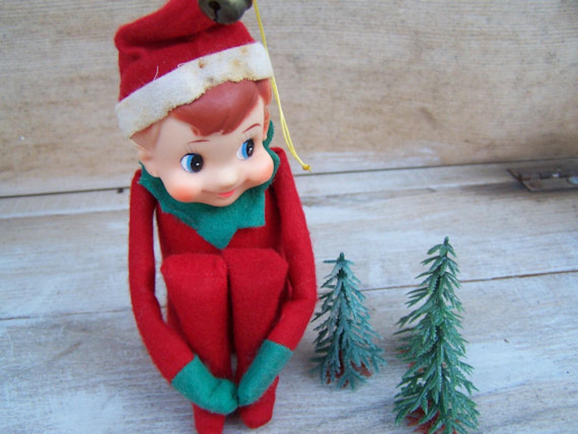 Vintage Knee Hugger Elf