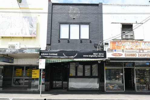 The outside of a venue in Coburg, Melbourne which has been classified as a tier 3 exposure site.