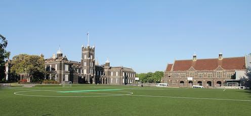 Melbourne Grammar School (senior campus) grounds