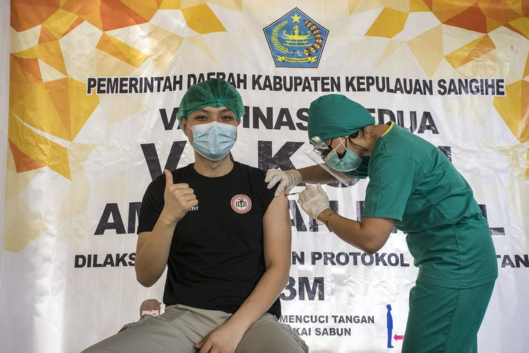 Why do people still reject COVID-19 vaccines in Indonesia? We need to solve  structural problems behind the anti-vaccine movement