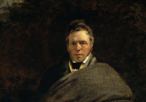Portrait of 18th/19-century Scots writer James Hogg by Sir George Watson Gordon.