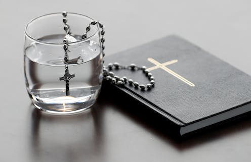 Observing Lent with fasting.