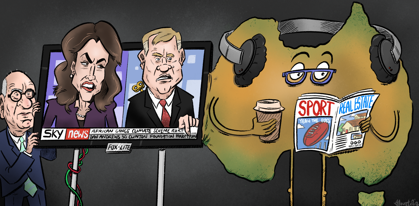 Is Sky News shifting Australian politics to the right? Not yet, but there is cause for alarm