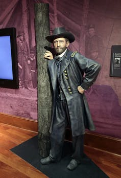 A full-sized statue of Gen. Ulysses S. Grant