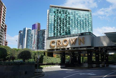Crown Casino entrance, Melbourne.