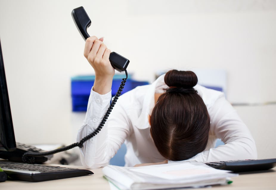 Phone call anxiety