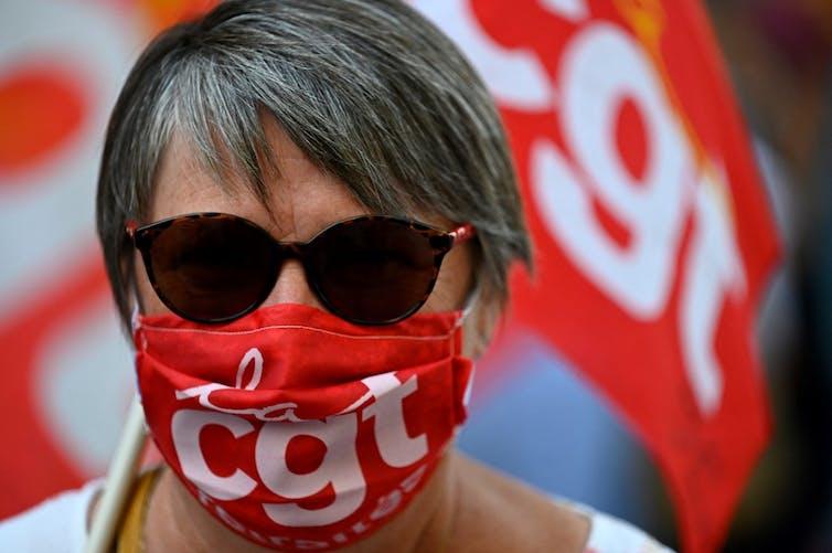 Une manifestation le 17septembre 2020 à Rennes