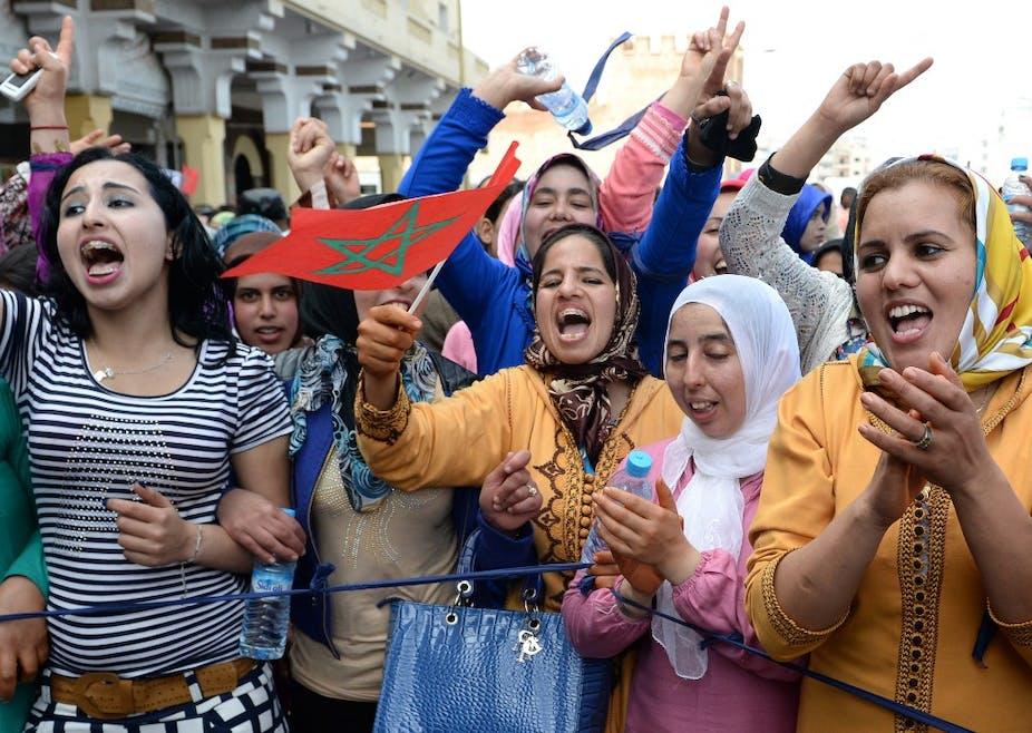 Des Marocaines à Rabat