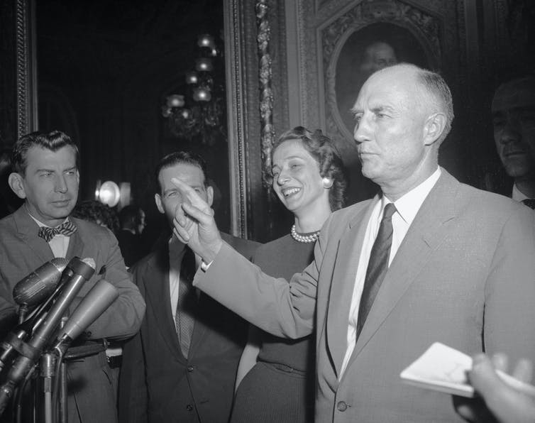 Strom Thurmond set a filibuster record in 1957