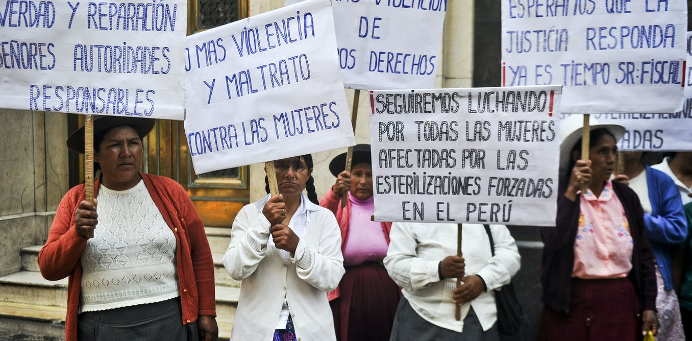 Forcibly sterilized during Fujimori dictatorship, thousands of Peruvian women demand justice